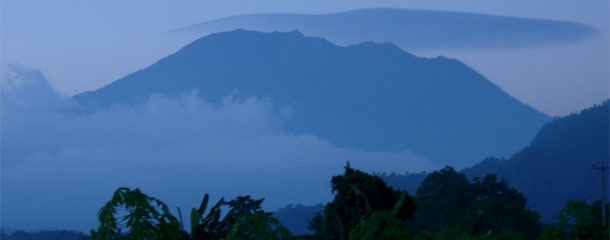 Gunung Agung at Twilight
